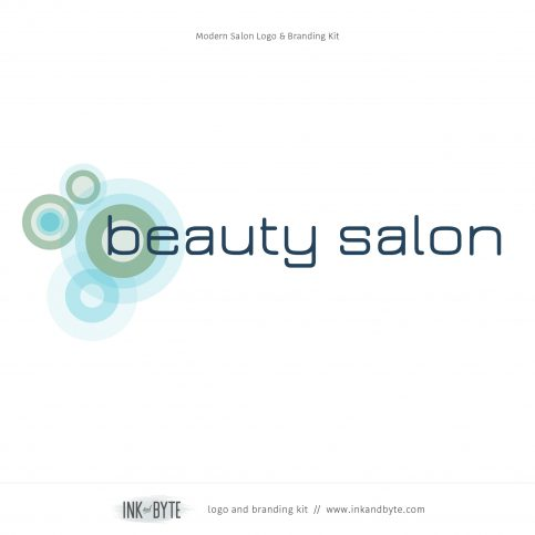 Modern Salon Logo & Branding Kit