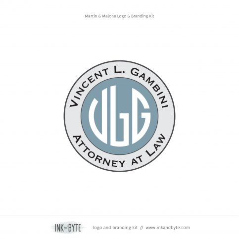 Circle Monogram Badge Logo & Branding Kit