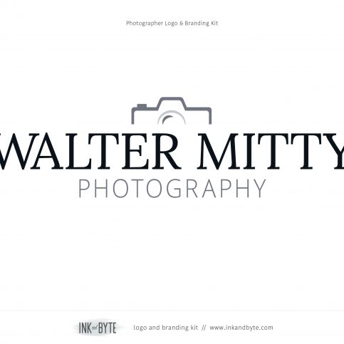 Photographer Photo Studio Logo & Branding Kit