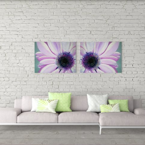 Ink and Byte - Daisy Close Up Printables for home, office and everywhere