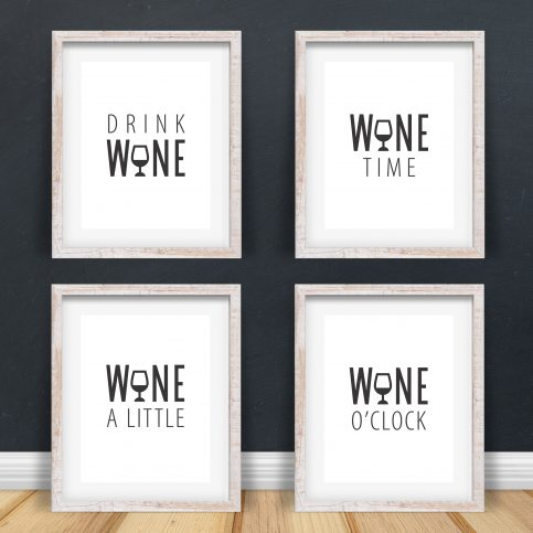 Wine Time Quotes, plus Bonus SVG files - Printable Wall Art for your home, office and anywhere else plus BONUS file for cricut, silhouette, cutting machines, screen printing and more