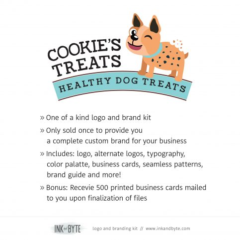 Classic Pet Business Natural Pet Food Logo & Branding Kit